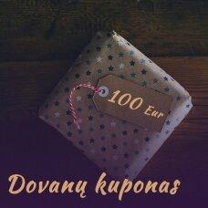 DOVANŲ KUPONAS, 100 EUR, QUEENSTOUCH.LT